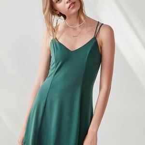 Silence and Noise Green Dress